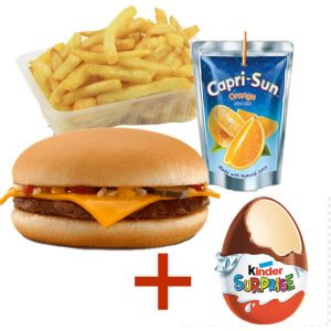 Menu enfant Burger